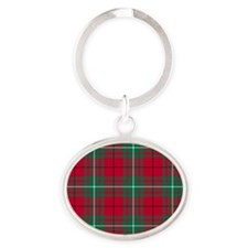 Tartan - MacAulay Oval Keychain