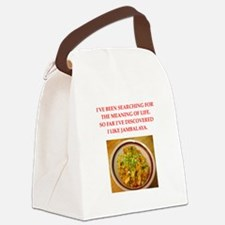 jambalaya Canvas Lunch Bag