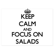 Keep Calm and focus on Salads Invitations