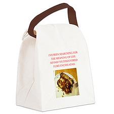 enchiladas Canvas Lunch Bag