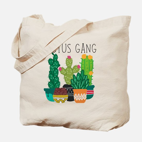 Cool Cactus Tote Bag