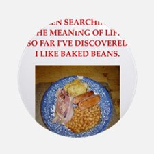 baked beans Ornament (Round)