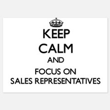 Keep Calm and focus on Sales Represent Invitations