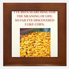 corn Framed Tile