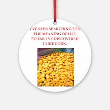 corn Ornament (Round)