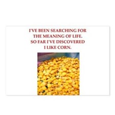corn Postcards (Package of 8)