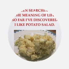 potato salad Ornament (Round)