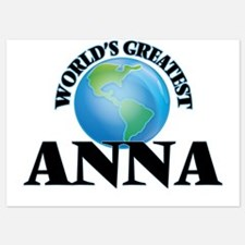 World's Greatest Anna Invitations