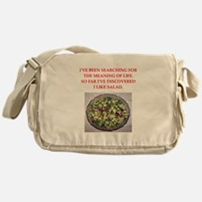 salad Messenger Bag
