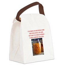 cheese snack Canvas Lunch Bag