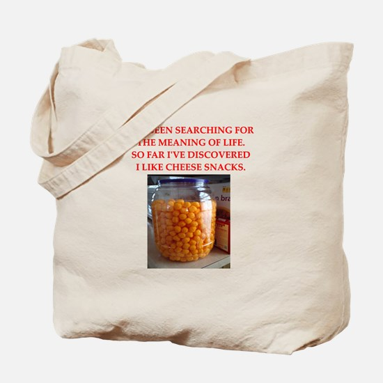 cheese snack Tote Bag