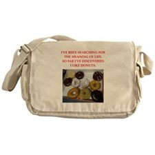 donuts Messenger Bag
