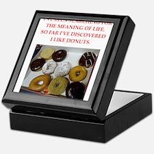 donuts Keepsake Box