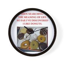 donuts Wall Clock