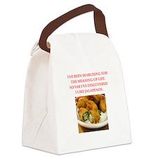 jalapeno Canvas Lunch Bag