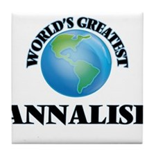 World's Greatest Annalise Tile Coaster