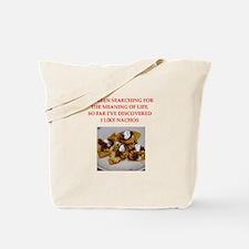 nachos Tote Bag