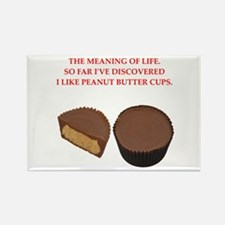 peanut butter cup Rectangle Magnet