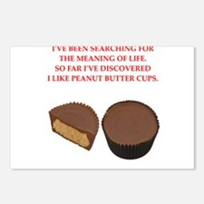 peanut butter cup Postcards (Package of 8)