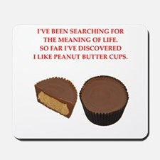 peanut butter cup Mousepad