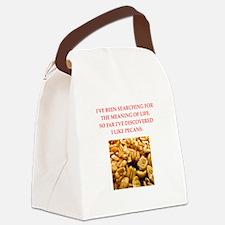 pecans Canvas Lunch Bag