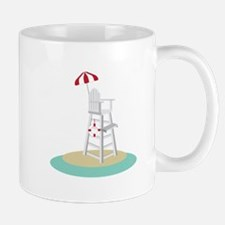 Lifeguard Stand Mugs