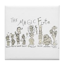 The Magic Flute: The Tile Coaster