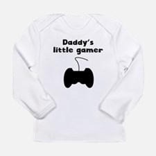 Daddys Lil Gamer Long Sleeve T-Shirt