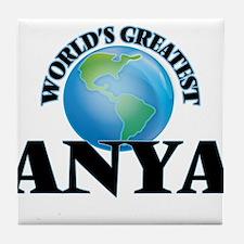 World's Greatest Anya Tile Coaster
