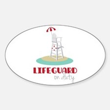 Lifeguard on Duty Decal