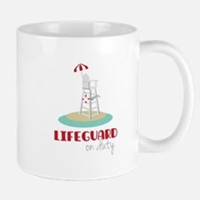 Lifeguard on Duty Mugs