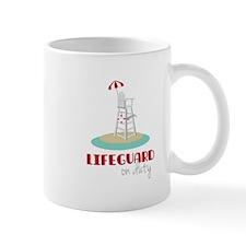 Lifeguard on Duty Mugs