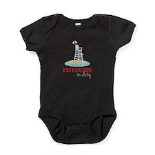 Lifeguard on Duty Baby Bodysuit