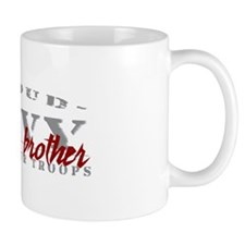 Proud Navy Brother (red) Mug