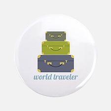 "World Traveler 3.5"" Button"