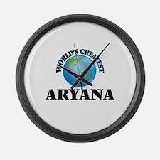 World's Greatest Aryana Large Wall Clock