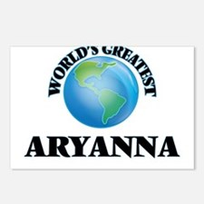 World's Greatest Aryanna Postcards (Package of 8)