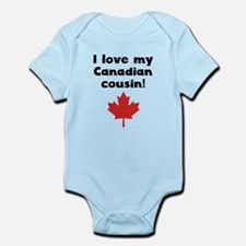 I Love My Canadian Cousin Body Suit