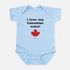 I Love My Canadian Nana Body Suit