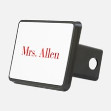 Mrs Allen-bod red Hitch Cover