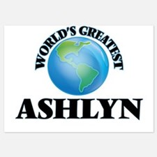 World's Greatest Ashlyn Invitations