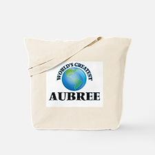 World's Greatest Aubree Tote Bag