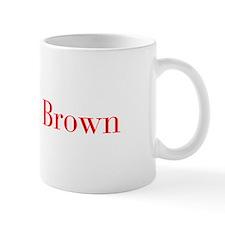 Mrs Brown-bod red Mugs