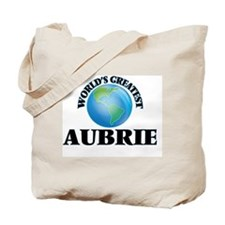World's Greatest Aubrie Tote Bag