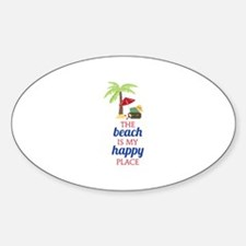 My Happy Place Decal