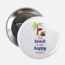 "My Happy Place 2.25"" Button (100 pack)"