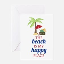 My Happy Place Greeting Cards