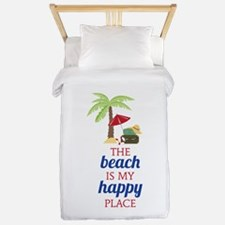 My Happy Place Twin Duvet