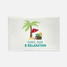 Sand Sun Relaxation Magnets
