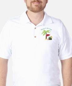 Take Me To The Ocean Golf Shirt